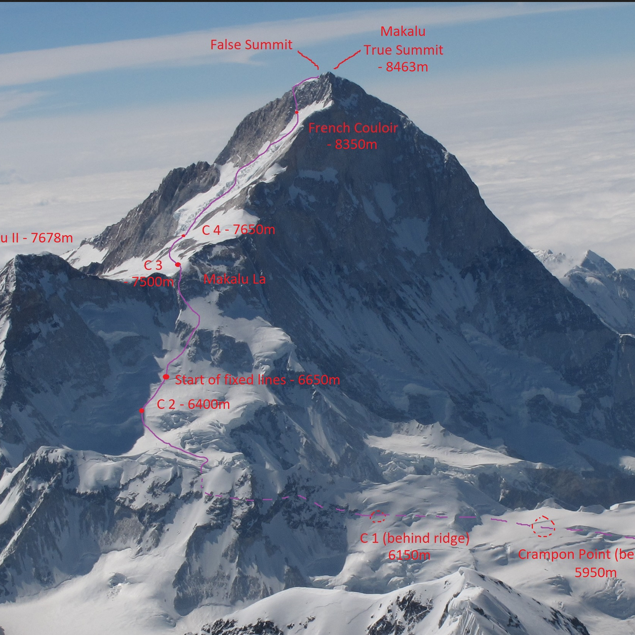 Makalu expedition climb | 8,463m with Andrew Lock