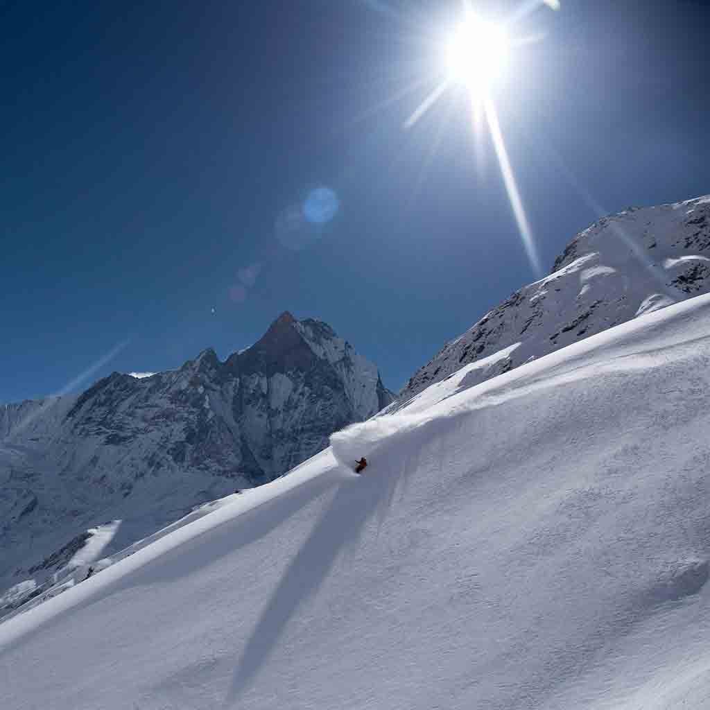 Annapurna Sanctuary – Ski Touring the Nepal Himalayas